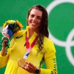La australiana Jessica Fox durante los juegos olímpicos Tokio 2020 / FOTO / El Español