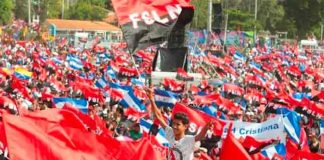 Jubilee House Community saluda 42/19 de Revolución Popular Sandinista