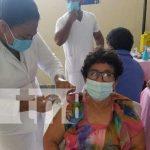 Jornada de vacunación contra el COVID-19 en Chontales