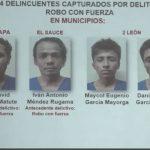 Foto: Caen detenidos 24 presuntos delincuentes en León / PN