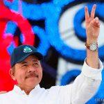 Saludos al presidente Daniel Ortega por el Movimiento Nacional Popular de Libia
