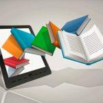 libro, electrónico, ebook, orígenes