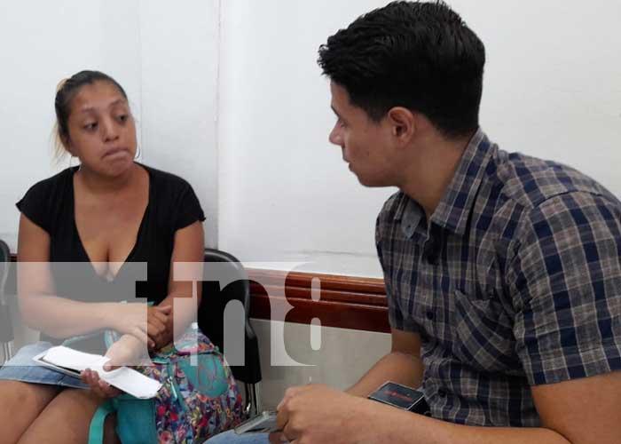 Madre que solicita ayuda para encontrar a su hijo