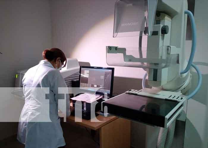 En el hospital de la mujer Bertha Calderón, se llevó a cabo una jornada diagnóstica de mamografía en el que participaron 40 pacientes