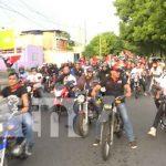 Diana y celebración en Managua por la Revolución Sandinista