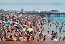 Hombre muere ahogado frente a sus hijos en playa inglesa