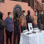 Cuatro miembros de la Mara Salvatrucha de Honduras fueron capturados