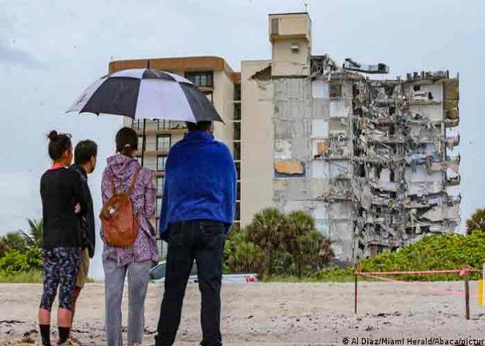 Identifican a cuatro víctimas del derrumbe de edificio en Miami-Dade
