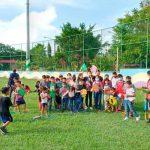 nicaragua, masaya, monimbo, festival de palometas, niños,