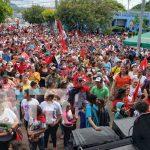 Foto: Matagalpinos celebraron el 42/19 con inmensa caravana /TN8
