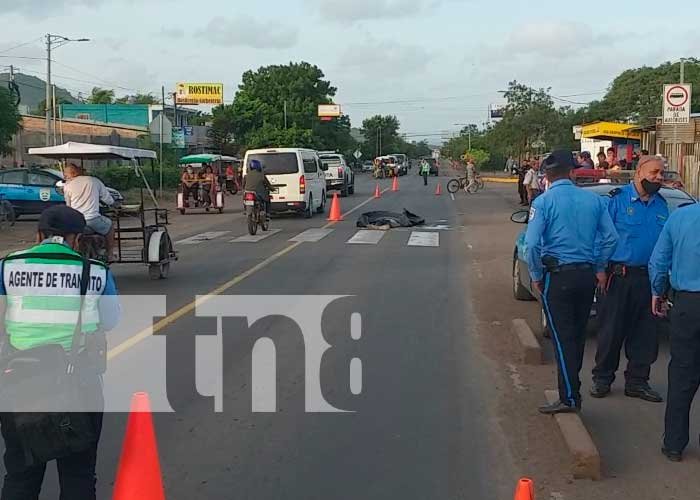 Provoca muerte y se da a la fuga en Matagalpa