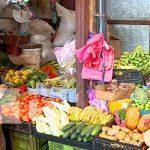 Venta de productos en mercados de Nicaragua