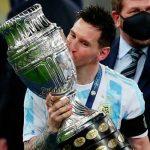 Messi rompe récord en Instagram con foto de la Copa América