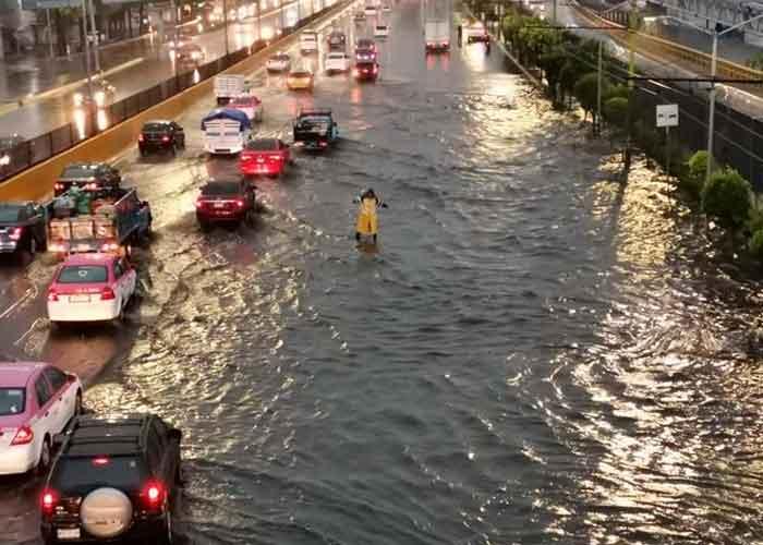 Ciudad de México en Alerta por inundaciones y fuertes lluvias | TN8.tv Nicaragua