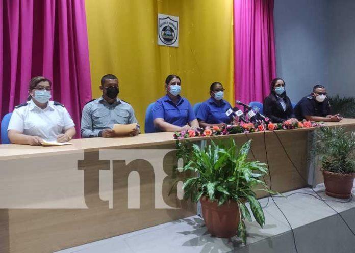 Conferencia de prensa del MIGOB sobre actividades semanales