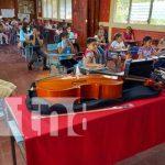 Instrumentos para promover la música con la niñez en Jinotega