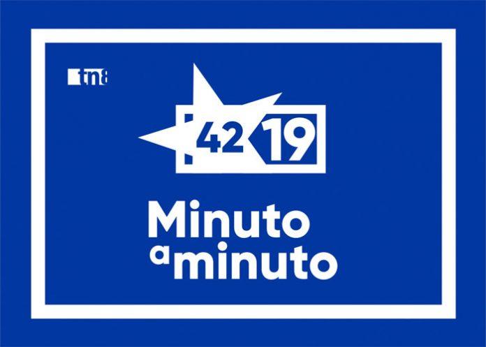 Imagen ilustrativa del Minuto a Minuto por el 42/19 de la Revolución