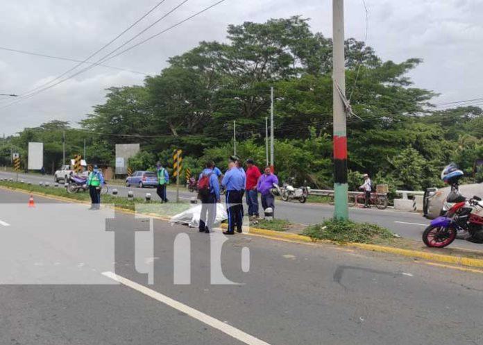 Mortal accidente de tránsito en la Carretera Nueva a León