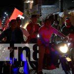 Diana moyogalpina conmemorando el glorioso 19 de Julio de la Revolución Sandinista