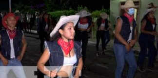 Moyogalpa celebró a Santa Ana con un festival vaquero