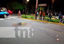 Hombre fallece bajo las llantas de un camión en la entrada a Chinandega