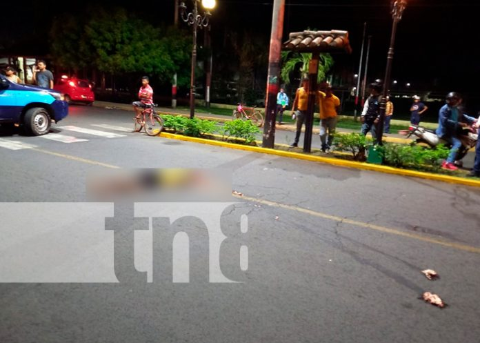 Hombre fallece bajo las llantas de un camión en la entrada a Chinandega / FOTO / Chinandega