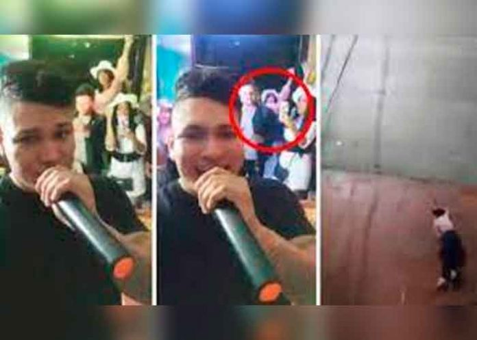 ¡Impactante! Mujer cae al vacío durante una fiesta en Colombia