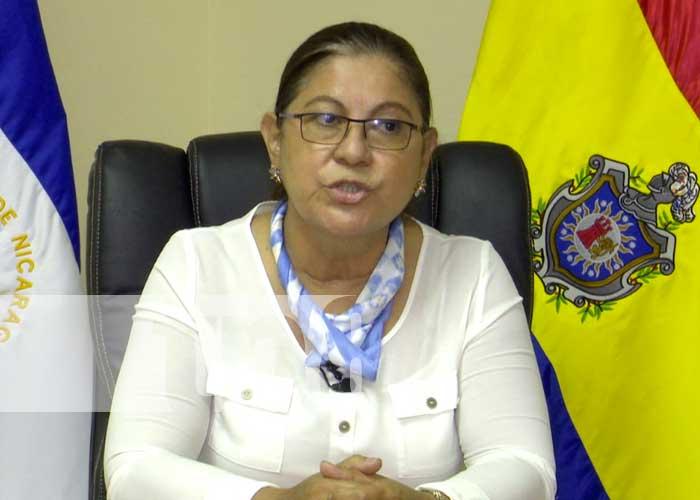 Ramona Rodríguez, catedrática de la UNAN-Managua