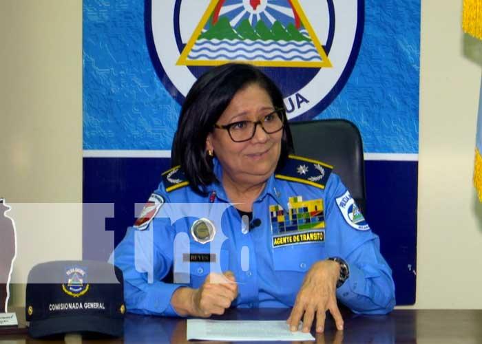 Vilma Reyes, jefa de Tránsito Nacional