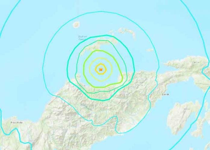 Foto: Sismo de magnitud 6,3 frente a las costas de Indonesia/Cortesía