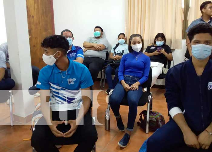 Conferencia de prensa sobre Juegos Centroamericanos de Atletismo en Nicaragua