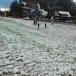 La nieve cubrió varias ciudades al sur de Brasil en plena ola de frío