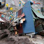 japon, deslizamiento de tierra, victimas mortales, lluvias,
