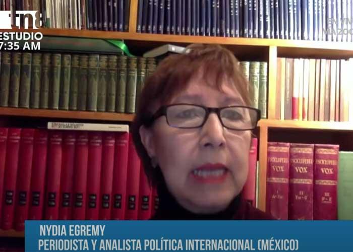 Entrevista a la periodista Nydia Egremy sobre golpes blandos en la región