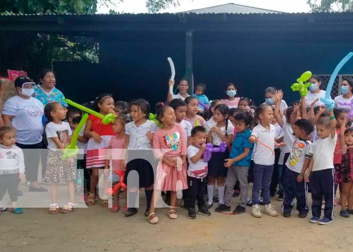 Día del Estudiante con festival de juegos tradicionales en Ocotal