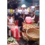 Mujer muere a manos de su pareja en el mercado Oriental, Managua