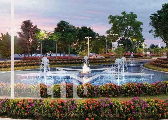 Lugar donde estará el nuevo Parque Bicentenario en Managua