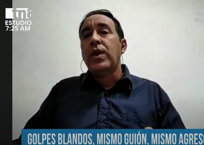 Entrevista al periodista Yosvani Noguet sobre golpes blandos en la región