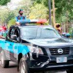 nicaragua, julio victorioso, policía, patrullas,