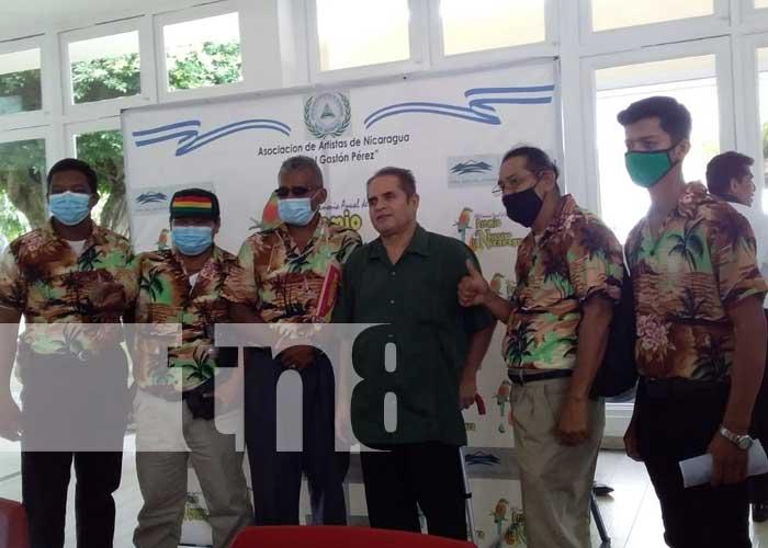 Conferencia sobre Premio Lo Nuestro Nicaragua