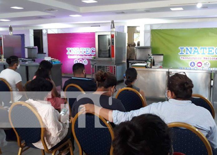 Foto: INATEC realiza retos gastronómicos con sus estudiantes / TN8