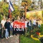 42 Aniversario de la Revolución Popular Sandinista se celebra en Lyon, Francia