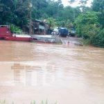 rio san juan, bomberos, polica, lluvias, inundaciones, el castillo,