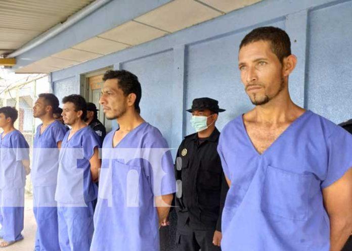Delincuentes capturados gracias a la policía en Río San Juan