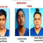 Detenidos por delitos de peligrosidad en Rivas