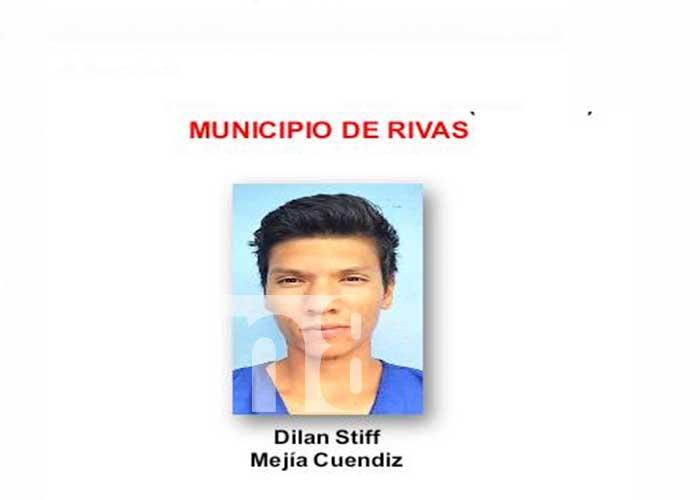 Detenido por cometer delitos en el departamento de Rivas