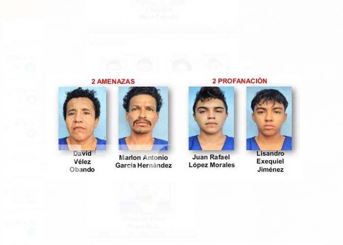 Operativos ejecutados por la Policía Nacional dejaron como resultado 16 personas detenidas