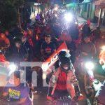Familias de Rivas salen a las calles para celebrar el 42/19