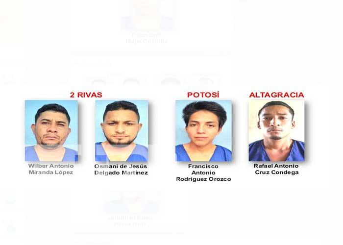 Operativos ejecutados por la Policía Nacional dejaron como resultado 16 detenidos por cometer delito