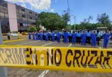 Presentación de delincuentes por cometer robos en el país